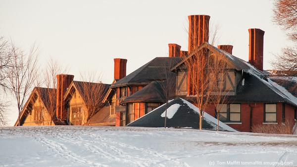 """""""Winter Light on the Inn"""""""
