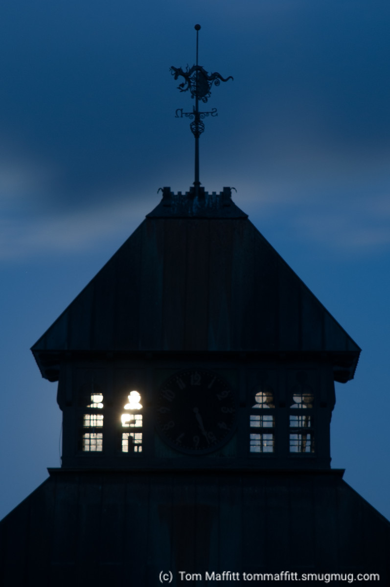 """""""Clock Tower Silhouette"""""""