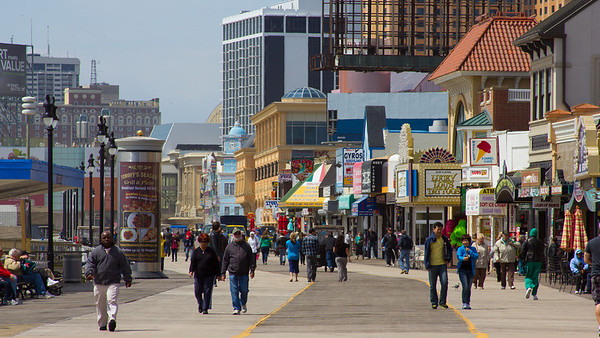 Atlantic City Boardwalk - Canon EOS REBEL T2i