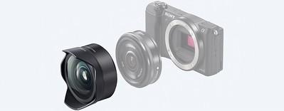 Sony E 16mm F2.8 Pancake + Fisheye Converter