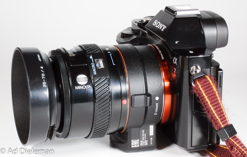 A7 with LA-EA3 and this lens