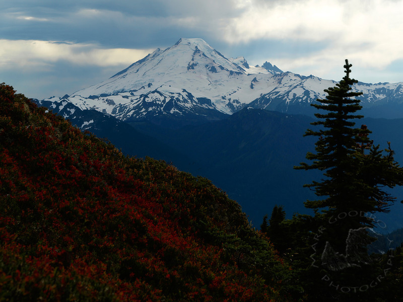 Mount Baker from Winchester Mountain in Fall