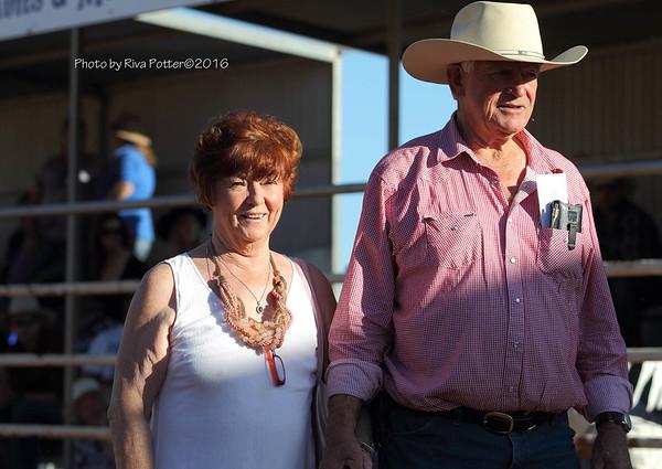 Sue and Tony Patmore
