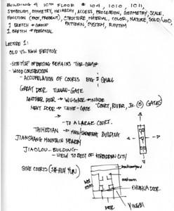 Aug 2010 - Leo's China Trip Sketches