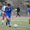 Leominster High School boys soccer hosted Worcester South High School at Doyle field on Tuesday, Oct. 29, 2019. LHS's #3 Daniel Valente. SENTINEL & ENTERPRISE/JOHN LOVE