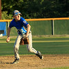 Scott LaPrade photo - Leom Ashton Molzahn fields the ball to 1st base