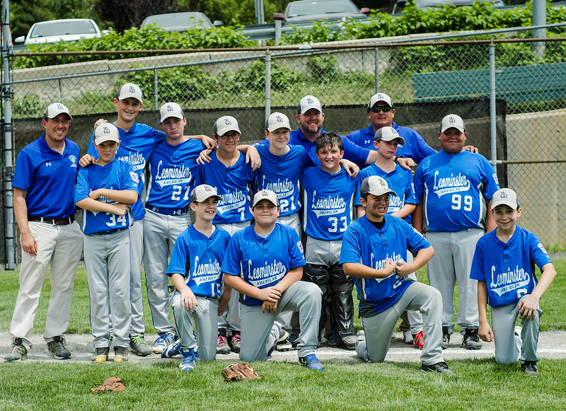 Leominster American falls to Holden 12-2 on Saturday, July 22, 2017. SENTINEL & ENTERPRISE / Ashley Green