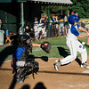 Lunenburg's Miles Seminatore takes a swing during the game against Leominster American on Tuesday, July 25, 2017. SENTINEL & ENTERPRISE / Ashley Green