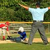 Photo Scott LaPrade - Zach Casey safe at 3rd base after hitting a triple