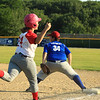 Photo Scott LaPrade Athols Pitcher Jenna Bonenfant is out at 1st caught by John Escabi Double play ball