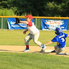 Photo Scott LaPrade - Will Hoyle appears to be safe at 2nd but is called out