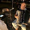 Italo DeMasi entertains the crowds at Leominster's Cannoli Festival on Thursday night, October 4, 2018 with his accordion. SENTINEL & ENTERPRISE/JOHN LOVE