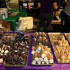Wholly Cannoli of Worcester had many different types of cannoli's  at Leominster's Cannoli Festival on Thursday night, October 4, 2018. SENTINEL & ENTERPRISE/JOHN LOVE