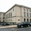 Leominster District Court House is still closed due to the coronavirus. SENTINEL & ENTERPRISE/JOHN LIOVE