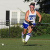 Wachusett High School field hockey team visited Doyle Field in Leominster on Wednesday to play Leominster High School. LHS's Alexis Hahn chases down the ball. SENTINEL & ENTERPRISE/JOHN LOVE