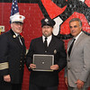 Ff Steven Provencher gets a Firefighter Recognition award for arriving on scene of a house fire on his way home.  Steve made 2 attempts to get into the home and rescue the victim but with out any protection was driven back out from the intense smoke and fire.