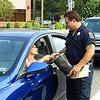 Leominster Firefighter Robert Penning collects for MDA. SENTINEL & ENTERPRISE/SCOTT LAPRADE