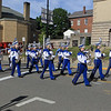 Leominster High School Marching band provides the music for the march SENTINEL&ENTERPRISE/Scott LaPrade