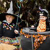Ellen, 5, and Anna DiNino participate in downtown trick-or-treating in Leominster on Saturday afternoon. SENTINEL & ENTERPRISE / Ashley Green