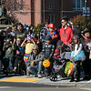 The annual Halloween parade was held in downtown Leominster on Saturday, Oct. 19, 2019. Many watch the parade. SENTINEL & ENTERPRISE/JOHN LOVE