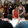 Students Check into the Leominster High School Prom at the DoubleTree by Hilton Hotel Leominster on Saturday night, May 12, 2018. SENTINEL & ENTERPRISE/JOHN LOVE