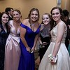 Leominster High School Prom was held at the DoubleTree by Hilton Hotel Leominster on Saturday night, May 12, 2018. From left is Gabby Tresalonu, Emily Hogue, Chloe Vella, Julia Hamilton and Megan Caless. SENTINEL & ENTERPRISE/JOHN LOVE
