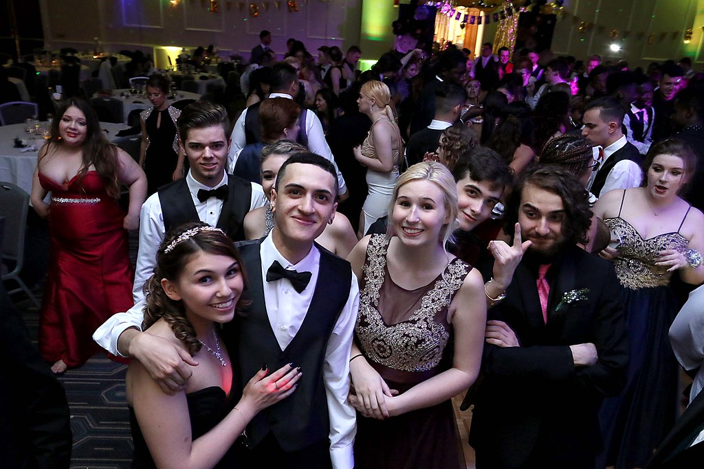 . Leominster High School held its prom at the DoubleTree by Hilton Hotel Leominster on Saturday night, May 12, 2018. SENTINEL & ENTERPRISE/JOHN LOVE