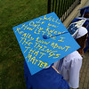 Leominster high School class of 2018 held their 148th commencement on Saturday, June 2, 2018. Singing and playing the keyboard with the LHS Jazz Band is graduate Jesse Blackman. Some of the students decorated their mortarboards for the ceremony. SENTINEL & ENTERPRISE/JOHN LOVE