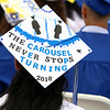 Leominster high School class of 2018 held their 148th commencement on Saturday, June 2, 2018. SENTINEL & ENTERPRISE/JOHN LOVE