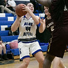Leominster High School girls basketball played Algonquin Regional High School on Friday night, Jan. 31, 2020.  LHS's #44 Destina VivoAmore. SENTINEL & ENTERPRISE/JOHN LOVE