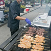 The annual Leominster Johnny Appleseed Craft Beer Festival was held Saturday, August 3, 2019. They had around 40 venders at the event with many of their beers. Chef Bruno Lima with Comeketo Brazilian Steak House in Leominster cooks up some beef and chicken at the festival. SENTINEL & ENTERPRISE/JOHN LOVE
