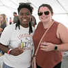 The annual Leominster Johnny Appleseed Craft Beer Festival was held Saturday, August 3, 2019. They had around 40 venders at the event with many of their beers. Enjoying themselves at the festival is Christie Idiong from Springfield and Abbie King from North Andover. SENTINEL & ENTERPRISE/JOHN LOVE