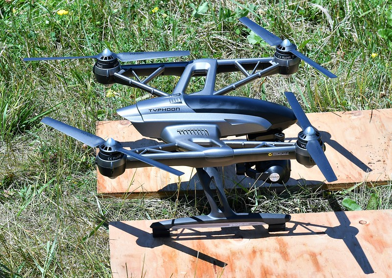The drone that was used to search for lost lambs at the former Leominster Landfill.<br /> Sentinel & Enterprise / Jim Fay