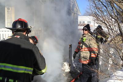 Leominster - MVA and House fire - February 13 2017