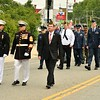 Veterans Marching during the Leominster Memorial Day Parade.    Sentinel & Enterprise/ Jim Fay