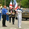 Leominster HS Band member, Hylton Harvey plays Taps in front of Carter Park during the Memorial Day Parade.    Sentinel & Enterprise/ Jim Fay