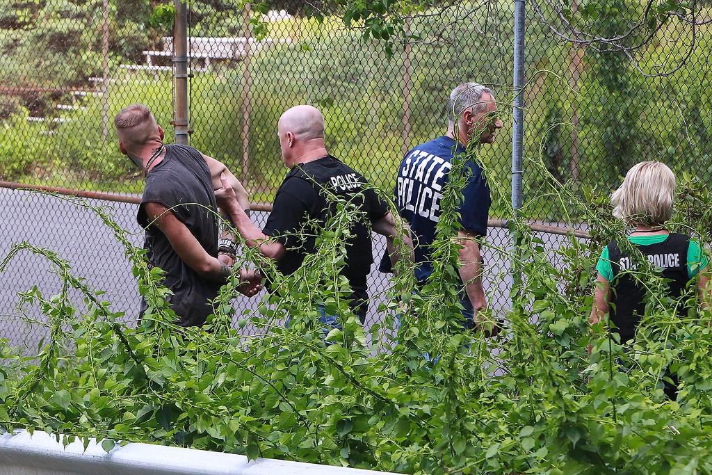 Ashburnham man captured after fleeing Route 2 car crash