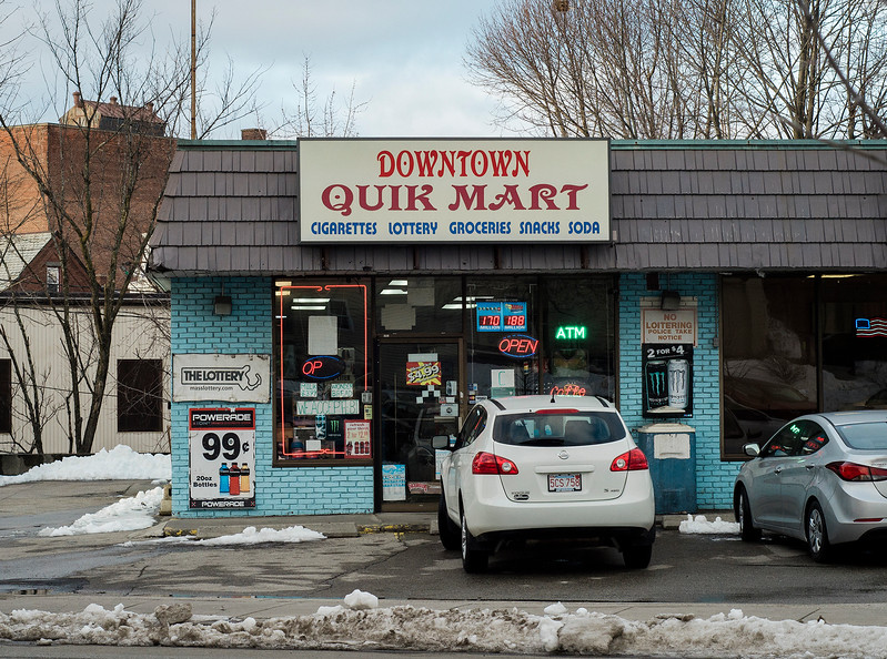 Leominster Health Board held a public hearing on Downtown Quik Mart, which has has eight tobacco violations in the past 36 months. SENTINEL & ENTERPRISE / Ashley Green