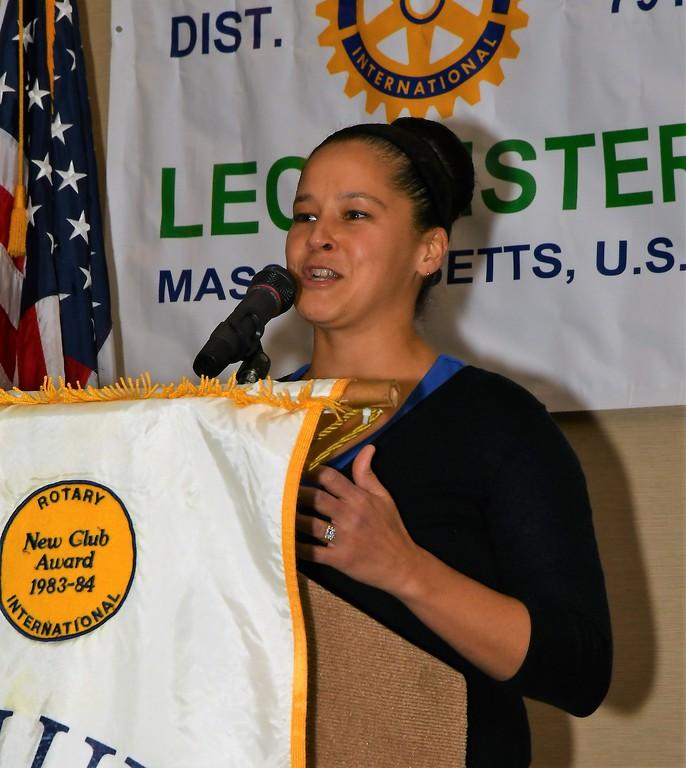 . Leominster School\'s PK-5th Grade Employee of the Year is Kelly Bernard. Jim Fay / Sentinel & Enterprise