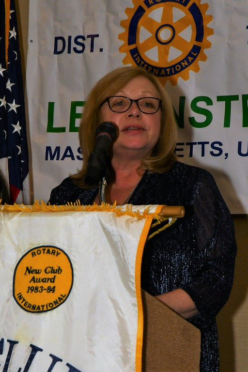 . Leominster City Hall Employee of the Year Linda Rossi. Jim Fay / Sentinel & Enterprise