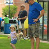 Mackenzie dances as her dad Rick Allain looks on SENTINEL&ENTERPRISE/Scott LaPrade