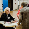 Volunteer checks voters in at Frances Drake Elementary School during the Ward 2 City Council special election on Tuesday, May 9, 2017. SENTINEL & ENTERPRISE / Ashley Green