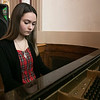 The Leominster Youth Art show was held at the Tata Auditorium in City Hall Thursday, March 5, 2020. All the schools in the district participated. Entertaining the crowd with her expertise on the piano during the show was Mandie LeBlanc, 15. She has been playing the piano for the past 9 years. SENTINEL & ENTERPRISE/JOHN LOVE