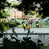Children play basketball during the National Night Out event held at Lowe Park in Fitchburg on Tuesday, August 1, 2017. SENTINEL & ENTERPRISE / Ashley Green