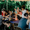 Residents enjoy lunch catered by Cormier Catering during the National Night Out event held at Watermill Apartments on Tuesday, August 1, 2017. SENTINEL & ENTEPRISE / Ashley Green