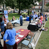 Leominster's Mayor's Office with North Central Career Centers of Leominster held a job fair on Tuesday morning on Monument Square in the city. SENTINEL & ENTERPISE/JOHN LOVE