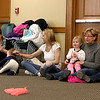 There were many children and their parents at Thursday, February 2, 2017  story hour at the Leominster Public Library. SENTINEL & ENTERPRISE/JOHN LOVE