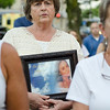 Leominster resident Debra Phillips holds a photo of Vanessa Marcotte during the vigil in memory of Leominster-born Vanessa Marcotte. Worcester County District Attorney Joseph Early Jr. confirmed during a press conference on Monday that the body of missing jogger and former Leominster resident Marcotte, 27, had been found in Princeton and that her death is being investigated as a homicide. SENTINEL & ENTERPRISE / Ashley Green