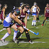 Leom Morgan Cormier and Fitch Larissa Brooks fight for the ball