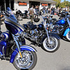 American Harley-Davidson held an open house on Saturday, September 29, 2018. Customers bike are lined up in front of the shop during the open house.SENTINEL & ENTERPRISE/JOHN LOVE